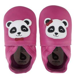 Bobux Soft Soles Panda pink von Bobux bei Pilzessin
