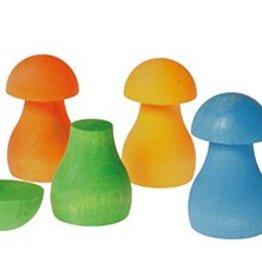 Grimm´s Sortierspiel Regenbogen Pilze von Grimm´s