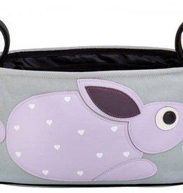 3Sprouts Kinderwagentasche Kaninchen bei Pilzessin