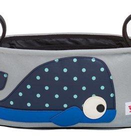 3Sprouts Kinderwagentasche Wal