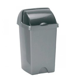 Addis ADDIS 25L ROLL TOP BIN METALLIC