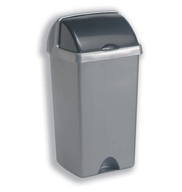 Addis ADDIS 50L ROLL TOP BIN METALLIC