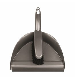 Addis ADDIS DUSTPAN SET METALLIC (STIFF)