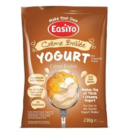 EasiYo EASIYO CREME BRULEE YOGURT 230G MAKES 1KG CREME BRULEE