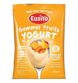 EasiYo EASIYO SUMMER FRUITS 225G MAKES 1KG (DISC)