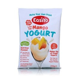 EasiYo EASIYO SWEETENED LOW FAT MANGO YOGURT 125G MAKES 1KG