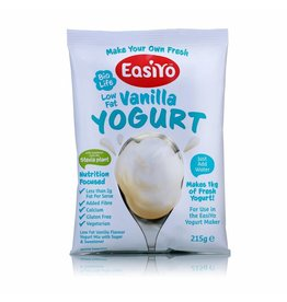 EasiYo EASIYO SWEETENED LOW FAT VANILLA YOGURT 125G MAKES 1KG
