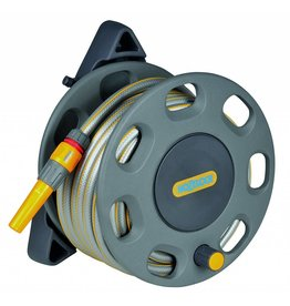 Hozelock 2422 HOZELOCK WALL MOUNTED REEL 15M HOSE AND CONNECTORS
