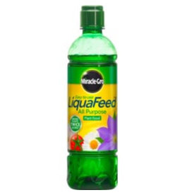 Miracle-Gro MIRACLE-GRO GROW ALL PURPOSE LIQUID LIQUAFEED PLANT FOOD FEED CONCENTRATED FERTILISER 475ml