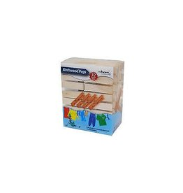 Addis WHAM PEGS WOODEN PEGS PACK OF 32