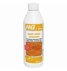 HG HG SPOT STAIN REMOVER TILES P.21 REMOVES OIL, GREASE & FAT ETC.