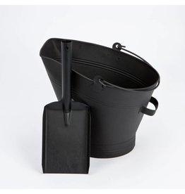 INGLENOOK BLACK COAL WATERLOO BUCKET WITH SHOVEL FIRE81