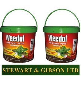 2 x WEEDOL ROOTKILL PLUS LIQUIDOSE 18 TUBE x 2 (36 Tubes) Free Postage TWIN PACK