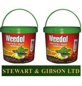 Weedol 2 x WEEDOL ROOTKILL PLUS LIQUIDOSE 18 TUBE x 2 (36 Tubes) Free Postage TWIN PACK
