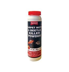 Rentokil RENTOKIL CARPET MOTH & BEETLE KILLER POWDER 150G
