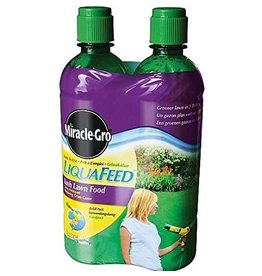 Miracle-Gro LIQUAFEED LUSH LAWN FOOD 2X475ML