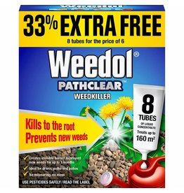 WEEDOL PATHCLEAR 6+2 TUBES FREE