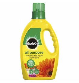 Miracle-Gro MIRACLE-GRO GROW ALL PURPOSE LIQUID PLANT FOOD FEED CONCENTRATED FERTILISER 1L