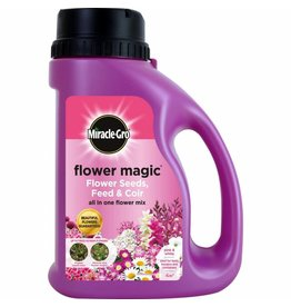 Miracle-Gro MIRACLE-GRO FLOWER MAGIC FLOWER SEEDS, FEED & COIR PINK & WHITE
