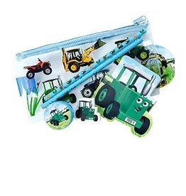 TRACTOR TED PENCIL CASE (FILLED) - 6 PACK