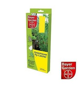 Bayer Garden BAYER GARDEN GREENHOUSE FLY CATCHER 7 DOUBLE SIDED TRAPS