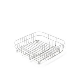 Addis ADDIS STAINLESS STEEL DRAINING RACK WHITE/STAINLESS STEEL