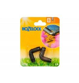 Hozelock 2766 HOZELOCK 90 DEGREES ELBOW 13MM CONNECTOR MICRO HOSE