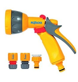 Hozelock 2347 HOZELOCK MULTI SPRAY GUN AND FITTINGS TAP HOSE CONNECTOR AND WATERSTOP