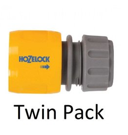 Hozelock 2166 HOZELOCK HOSE END CONNECTOR TWIN PACK