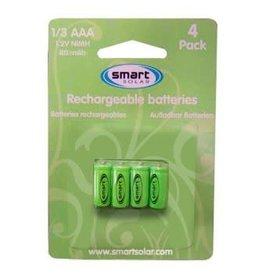 Smart Garden SMART GARDEN 1/3 AAA RECHARGEABLE BATTERIES 80MAH (4PK)