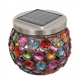 Smart Garden SMART GARDEN MULTI GLOW GEM JAR SOLAR LIGHTS