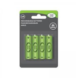 Smart Garden SMART GARDEN AA RECHARGEABLE BATTERIES 600MAH (4PK)