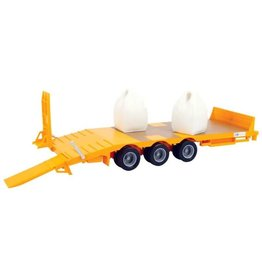 Britains BRITAINS BIG FARM LOW LOADER AND TRAILER