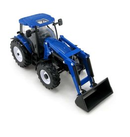 Britains BRITAINS NEW HOLLAND T6.180 TRACTOR + FRONT LOADER (DISC)