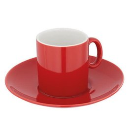 Judge JUDGE EXPRESSO CUP & SAUCER RED