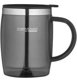 Thermos THERMOS TRANSLUCENT DESK MUG 450ML GUN METAL