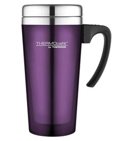 Thermos THERMOS TRANSLUCENT TRAVEL MUG 420ML PURPLE