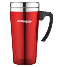 Thermos THERMOS TRANSLUCENT TRAVEL MUG 420ML RED