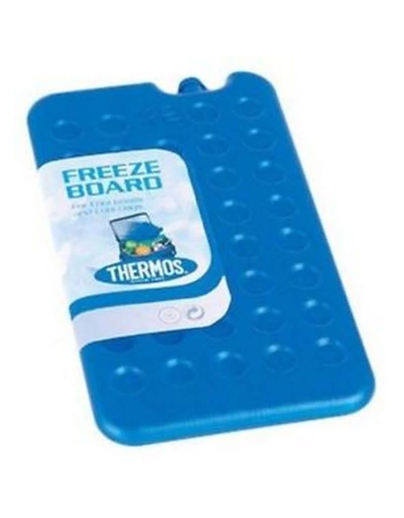 Thermos 2 x Twin Pack Thermos 400g Ice Pack Freeze Board Cool Bags Travel Lunch Boxes