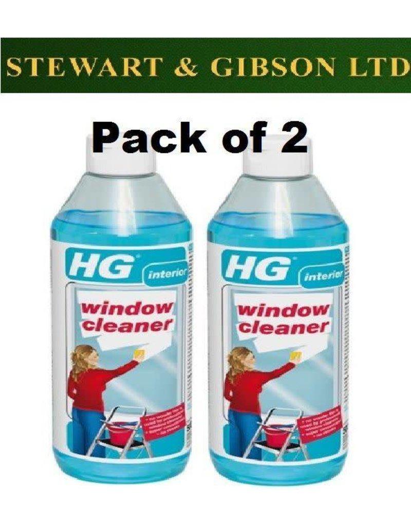 HG 2 x HG Hagesan Professional Window Cleaner 500ml