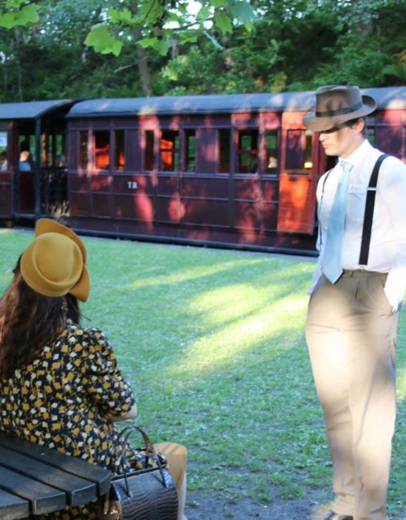 Murder on the Tanfield Express