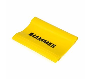 Hammer Fitness Hammer Fitnessband Elastiek - Geel - Weerstand: Licht
