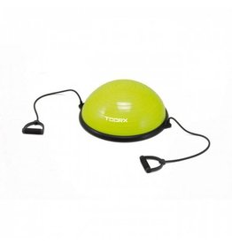 Toorx Fitness Toorx Balanstrainer  - Ø 58 cm - Lime Groen - met Resistance Tubes - incl pomp