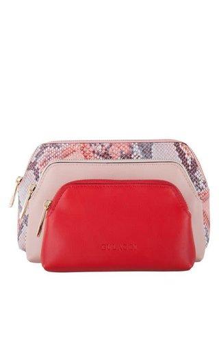 Bulaggi Treso cosmetic bag ladies rood