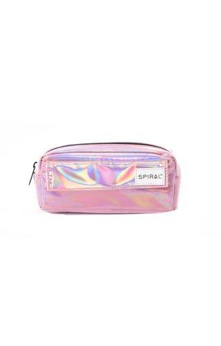 Spiral Pencil Case Pink Rave
