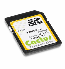 Cactus Technologies Limited KS128GRI-240 SD Card