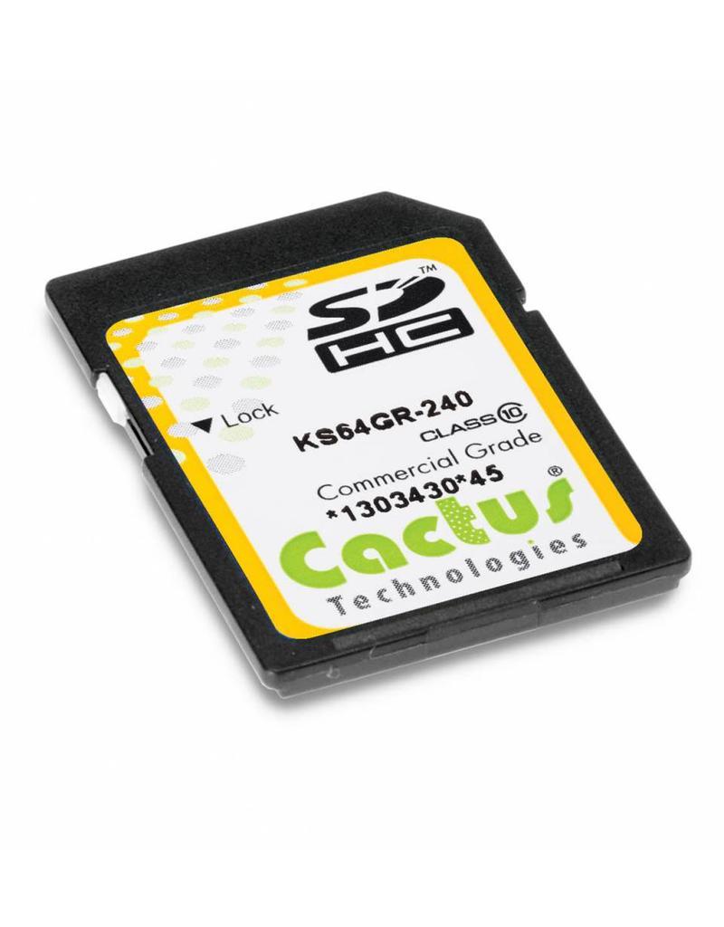 Cactus Technologies Limited KS16GR-240, SD Card MLC NAND, Cactus-Tech
