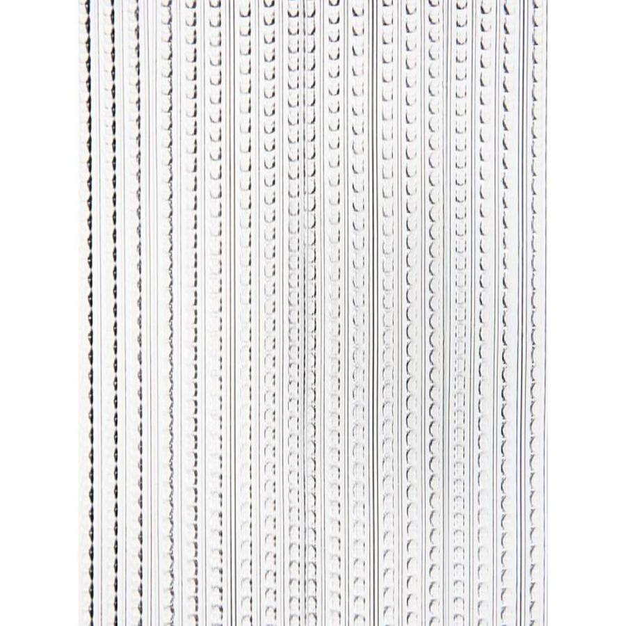 Deurgordijn PVC Licht Transparant