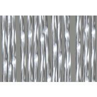 Deurgordijn PVC Zwaar Transparant - Wit