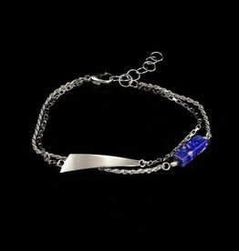 Armband trapezium en lapis